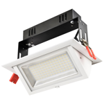 20W Premium Rectangular Adjustable LED Downlight (3000K)