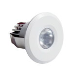 6 Round 3W LED Dimmable Cabinet Lights (6000K)