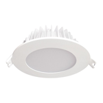 12W Residential Fixed LED Dimmable Downlight (3000K)