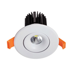 10W Commercial Adjustable Dimmable LED Downlight (3000K)