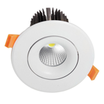 15W Commercial Adjustable Dimmable LED Downlight (3000K)