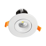 12W Commercial Adjustable Dimmable LED Downlight (3000K)