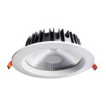 30W Commercial Fixed Dimmable LED Downlight (6000K)
